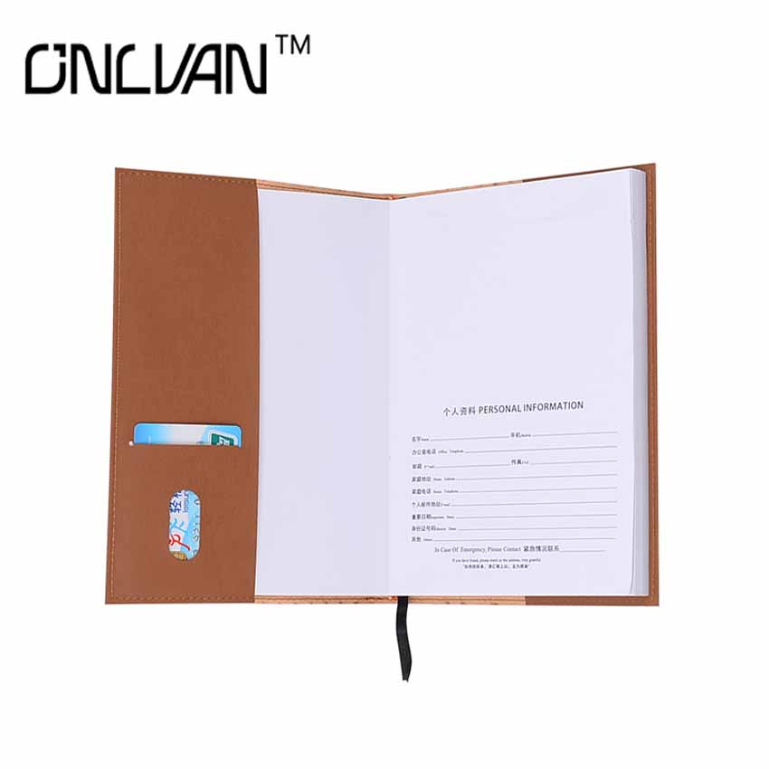 PU Leather Notebook with Card Business Notebook Office Supply Daily Notebook Travel Accessories Chancery Supply Wholesale Retail frank buytendijk dealing with dilemmas where business analytics fall short