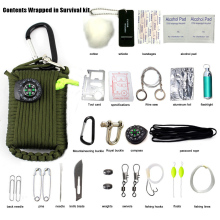 SOS EDC Paracord Survival Kit