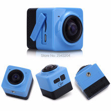 New Portable WIFI HD 1080p Sport Action Camera 360 Degree Mini HD Panoramic Video 3D VR Camera+8GB / 16GB SD Card