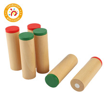 Montessori Materials Sensorial Toy Mini Sound Boxes Baby Educational Collection Shaking Tube