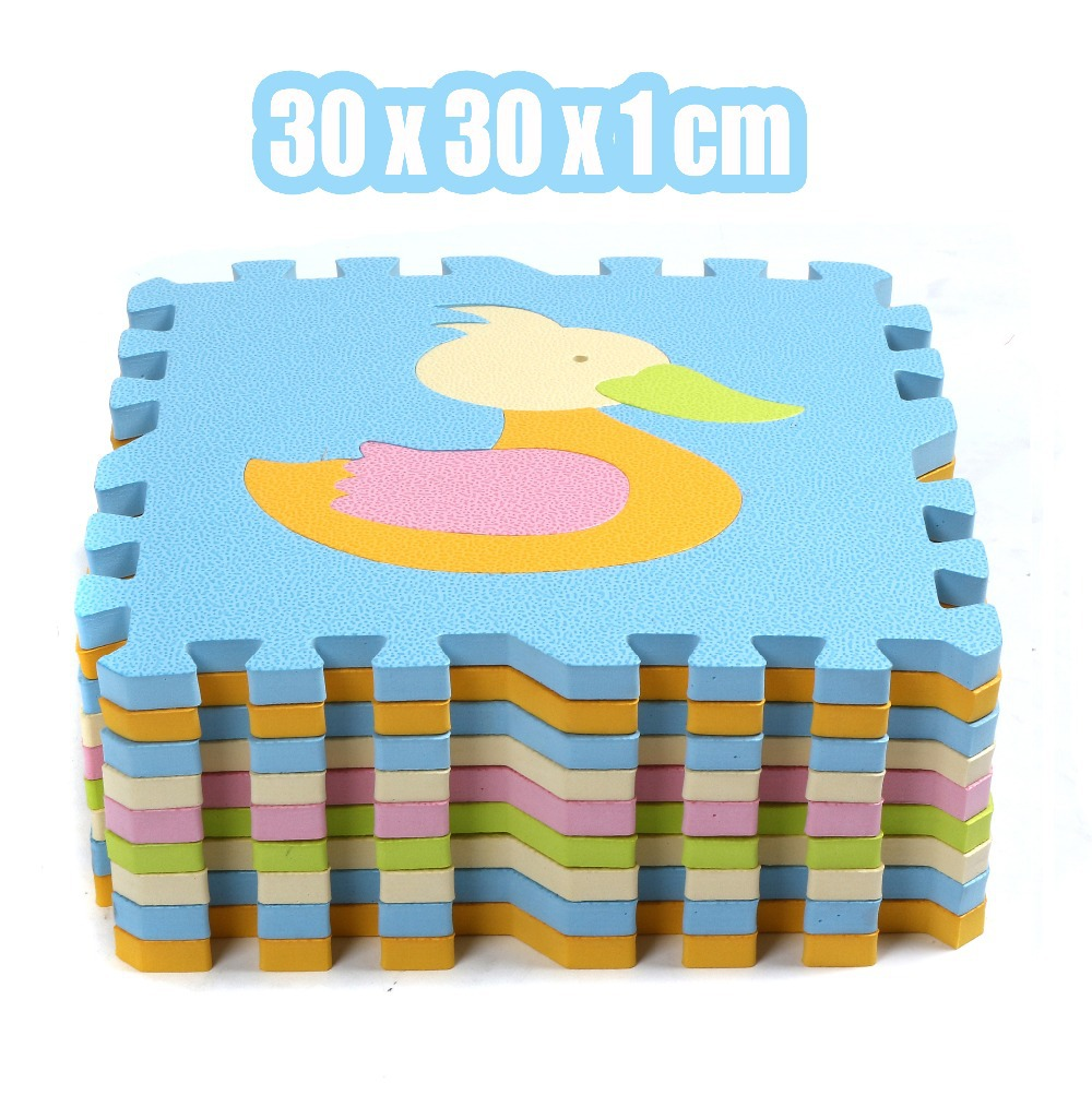 Foam Material Floor Mat For Nursery School Baby Kid Cushion Cartoon Antibacterial Preschool Infant Carpet In From Home Garden