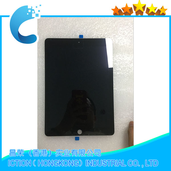 New A1567 A1566 LCD Digitizer Assembly For iPad Air 2 LCD Screen Assembly Display Touch Screen Black black color 1pc lot for zte n9511 lcd display lcd sreen touch screen touch digitizer assembly