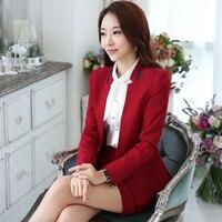 Korean OL Business Attire Suits Thick Dress Suit Long Sleeves Uniform