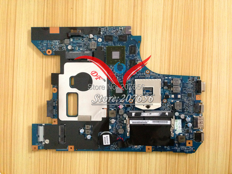 ФОТО NEW motherboard for lenovo Z570 V570 48.4PA01.021 laptop motherboard non-integrated HM65 8 video cache perfect