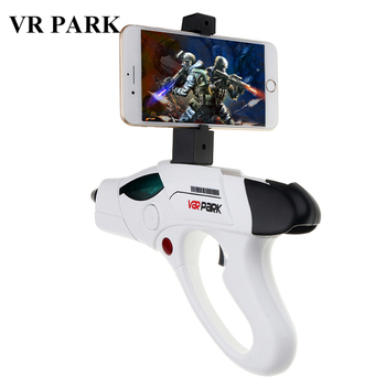 VRPARK Wireless Bluetooth Reality Virtual AR Gun for iPhone Android Smart Phone Toy Game Gun with 3D AR Games Gift for Kid Child araç koltuk arkası telefon tutucu