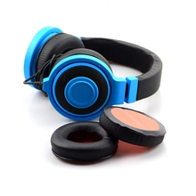 лучшая цена 1 Pair Replacement 90mm Earpads Ear Pads Cushion for Razer Kraken Pro Gaming Headphones High Quality 1.22