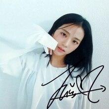 Подпись BLACKPINK Ким Jisoo с автографом фотография DDU-DU 4*6 K-POP 082018B
