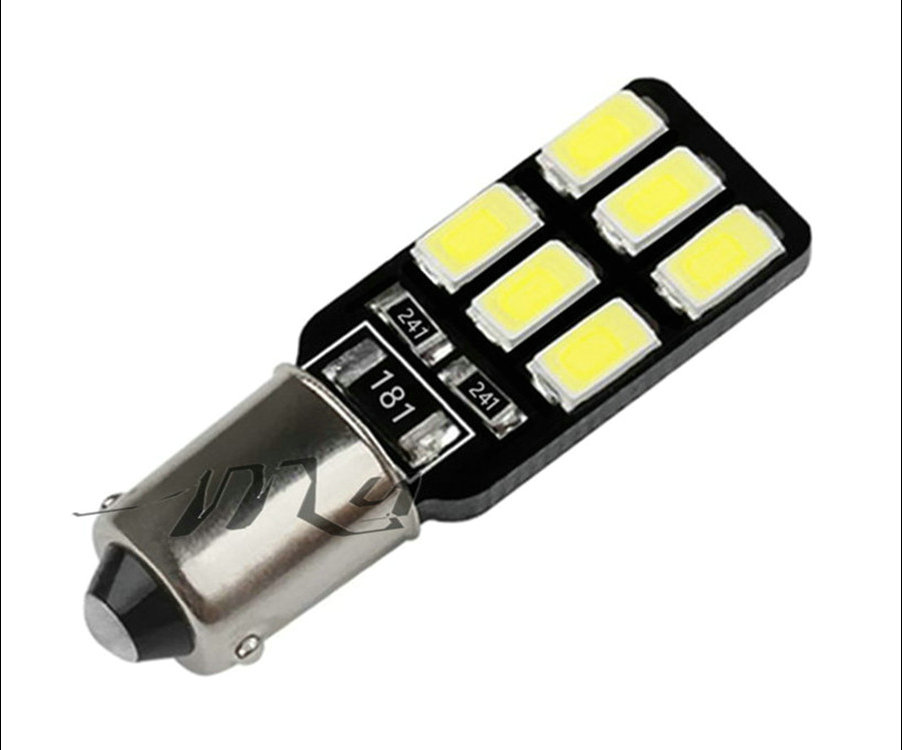 BA9S 12 SMD 5630 CANBUS лампы ошибок T4W H6W автомобилей светодиодные лампы Интерьер фары автомобиля источник света парковка 12 В белый 6000 К