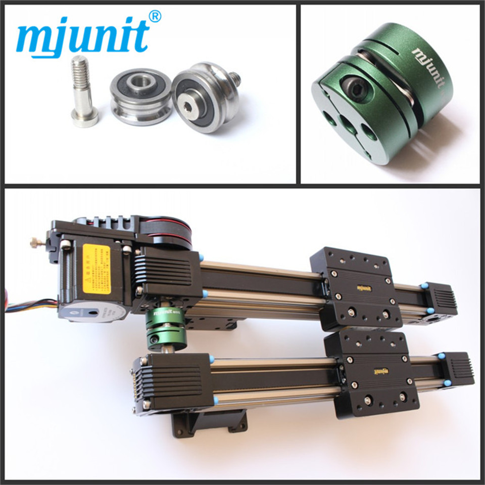 belt guide linear rail actuator motion Linear Motion module for camera linear rail photography Timelampse linear way linear axis with toothed belt drive belt drive linear rail reasonable price guideway 3d printer linear way