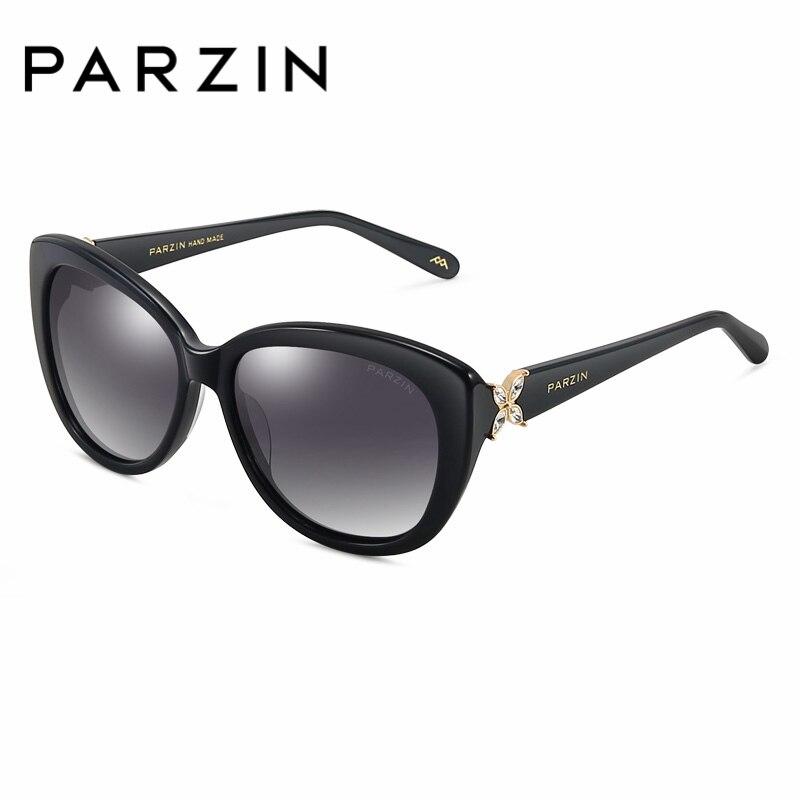 Qualität Polarisierte testudinarious Original Mit Marke Sonnenbrille Parzin Rahmen Für coffee Big Gläser Hohe 9612 Frauen Echt Black Fall Driving TInfqnP1w