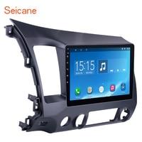 Seicane Android 6.0 10.1 inch Car Radio 2Din Quad Core HD 1024*600 Tochscreen Multimedia Player For Honda Civic
