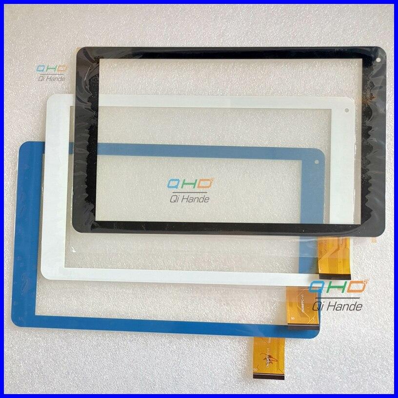 Blanco/azul nuevo 10,1 ''pulgadas Tablet PC escritura CN068FPC-V1 SR recambio del digitizador de la pantalla táctil envío libre