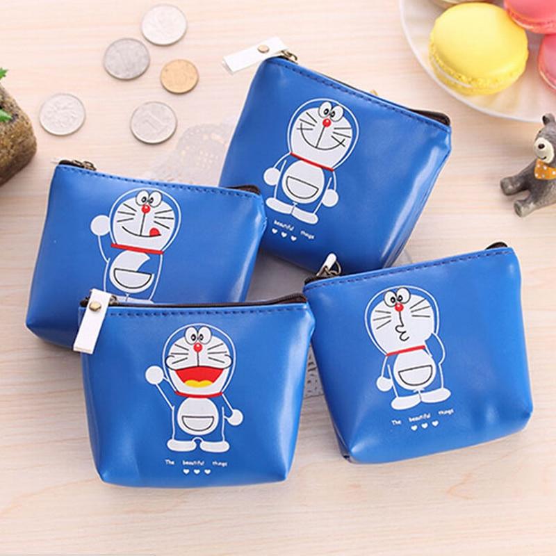 fashion Doraemon cartoon headset bag coin purse waterproof Coin Purse wallets Mini bag