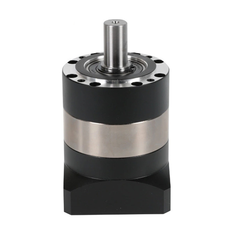 Round flange 60 planetary gear reducer 12 arcmin ratio 15:1 to 100:1 for NEMA23 stepper motor input shaft 1/4inch 6.35mm round flange 60 planetary gear reducer 12 arcmin ratio 15 1 to 100 1 for nema23 stepper motor input shaft 3 8 inch