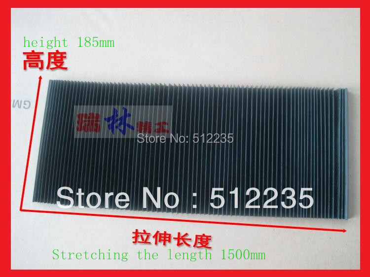 185*1500mm  Engraving machine dust cloth/dust cover  for CNC Router and  spindle motor  цены