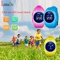 GPS smart watch 520 S детские часы с Wi-Fi поддержка micro sim-карты SOS Вызова Расположение Устройства Трекер для Kid Safe