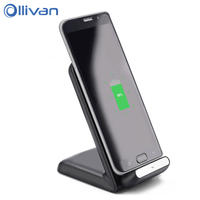 OLLIVAN Qi Charger Fast Charging For Iphone X Wireless Charger Fast Charge For Samsung Galaxy S8