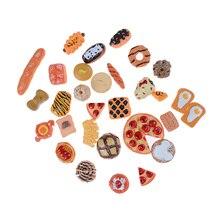 10pcs Home Craft Mini Food Ornament Miniature Dollhouse Decor