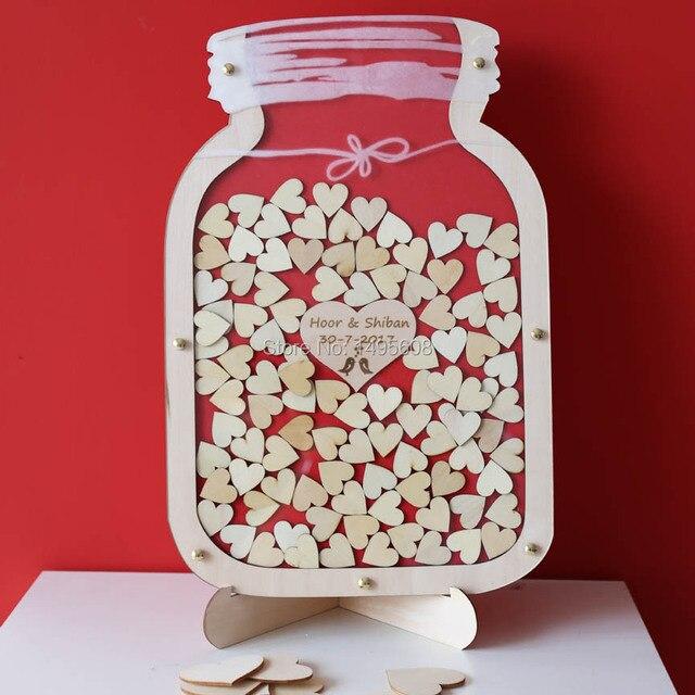 aliexpress buy jar guest book wedding guest book