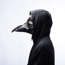 plague doctor mask Bird Mask Doctor  Long Nose Cosplay Fancy Exclusive Gothic Retro Rock Leather Halloween