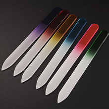 6pcs/set High Quality Nail File Crystal Polishing File Glass Nail