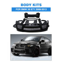 FRP Black Primer Car Accessories Body Kits for BMW E71 X6 xDrive 35i 50i 50iA M Sport SUV 4 Door 2008 2013