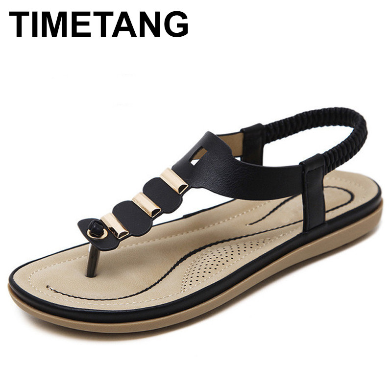 TIMETANG Summer New Women flip flops Shoes Roman Style Fashion Buckle Sandals Clip Toe Slope Thick Heels Shoes Woman hot sale women fashion summer slope with flip flops sandals loafers shoes 0320