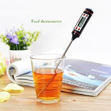 New Meat Thermometer for Oven Kitchen Digital Cooking Food Probe Electronic BBQ Cooking Tools Gas Oven Thermometer S2017145(China)