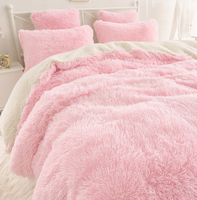 WINLIFE новый контракт корейское постельное белье наборы, красивые бархатные постельные принадлежности мешок, овечья шерсть чистый цвет Falbala к