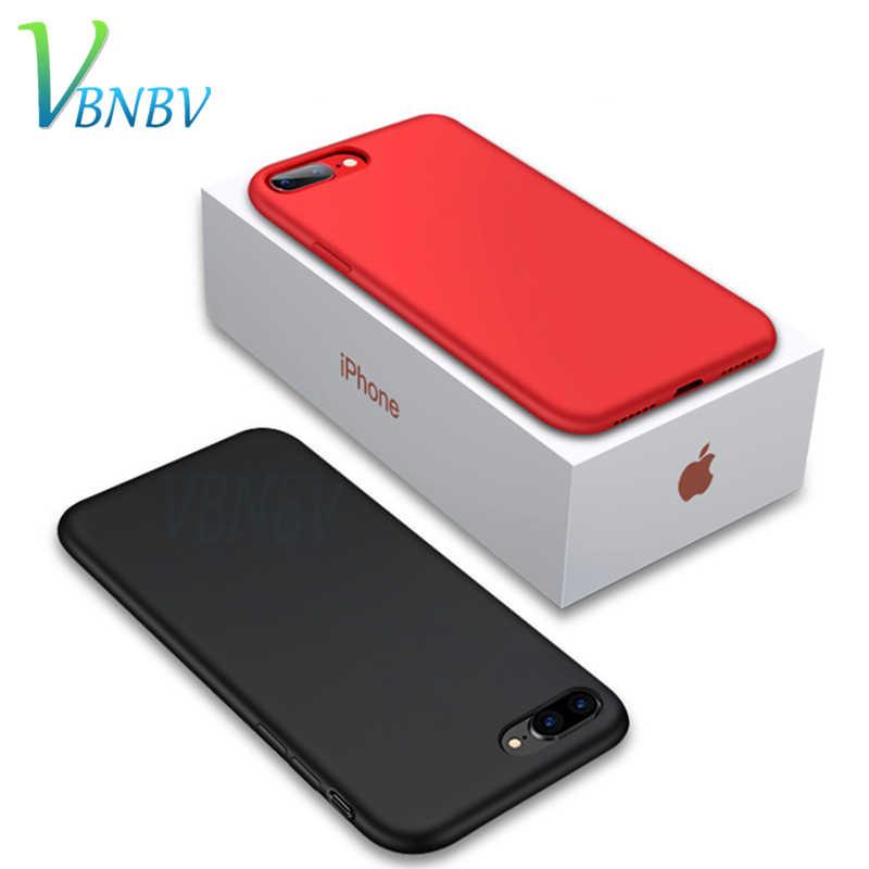 VBNBV ТПУ Мягкий силиконовый чехол для телефона iphone 7 8 6 6S Plus ультратонкий милый цвет PP Чехлы для iphone X XS Max XR задняя крышка