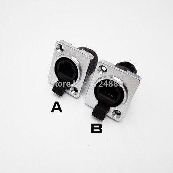 цена на RJ45 connector sockets,RJ45 female connectors, Ethernet connector,IP65 panel mount