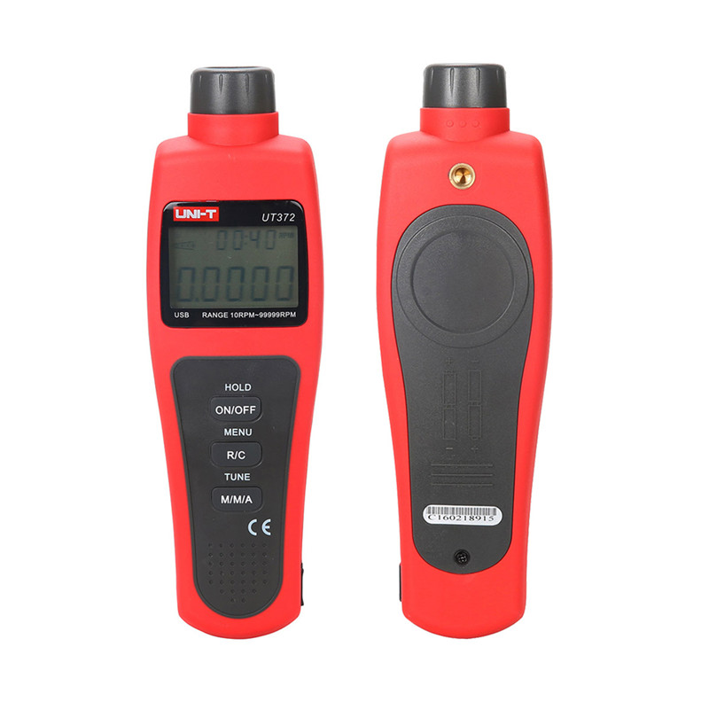 Wholesale UNI T Speed Monitor UT372 Non Contact Digital Tachometers 10RPM 99999RPMn LCD Display Speed font