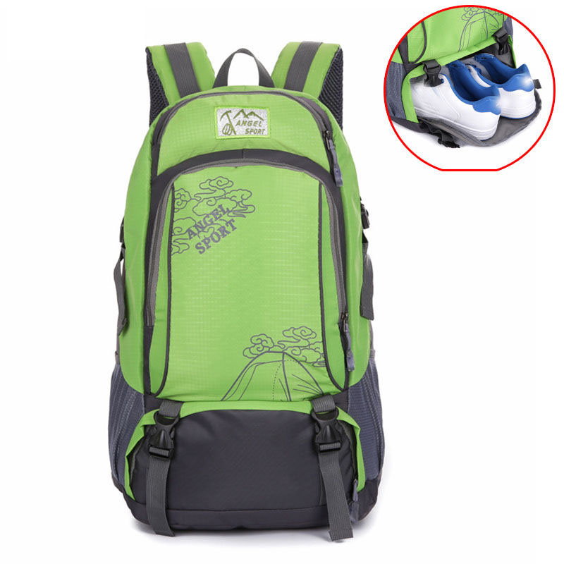74f55c9b49 Camping Backpack Men Women Outdoor Sports Backpacks Hunting Travel Rucksack  Large Tourist School Bag For Shoes