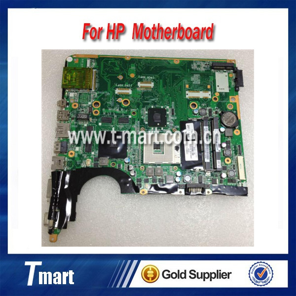 ФОТО 100% working Laptop Motherboard for hp 580977-001 DV6-2000 PM55 System Board fully tested