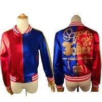 Coat Harley Quinn Jacket Property of Joker Embroidery Jacket Suicide Squad Harley Quinn Cosplay Adult Jacket Coat