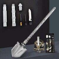 Engineer Military Shovel Folding Multi purpose Shovel Outdoor Equipment Garden Tools Camping Self defense Tools