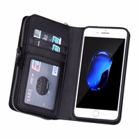 BRG For Iphone 6 6S 7 8 Plus Case Luxury Detachable Magnetic Leather Soft Silicone Armor