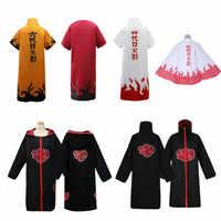Anime Naruto Akatsuki/Uchiha Itachi Cosplay Halloween Weihnachten Party Kostüm Mantel Cape