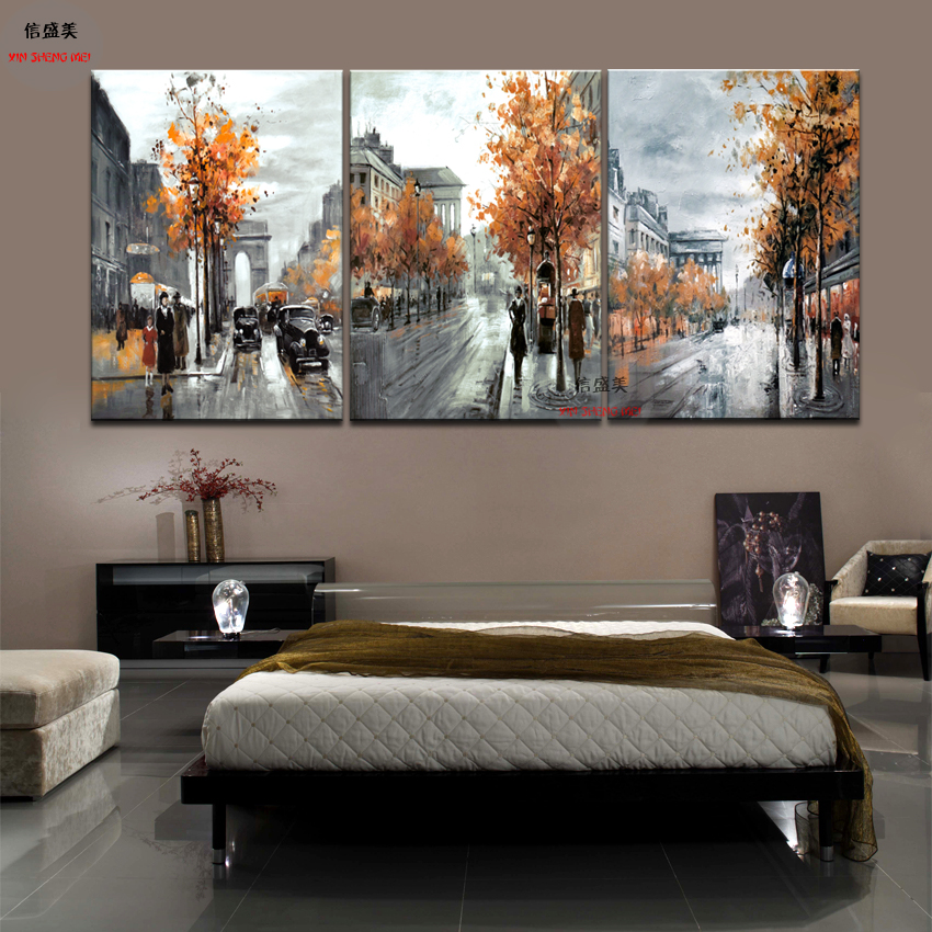 Buy 3 Piece Modern Picture Cuadros Decoracion Canvas Oil Painting Art Pictures Wall Paintings Pintura For Living Room Wall No Frame for $3.40 in AliExpress store