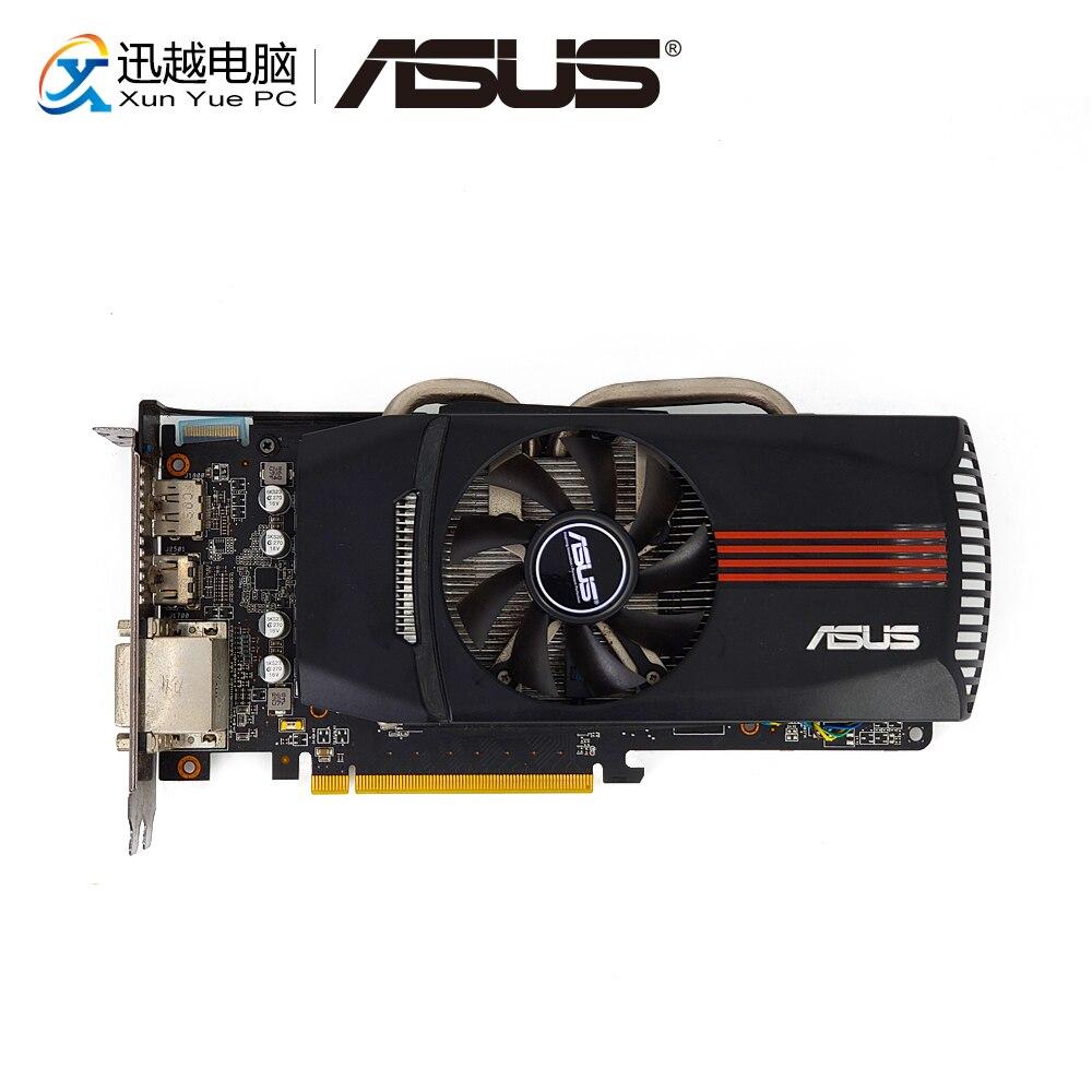 ASUS eah6850 DC/2DIS/1GD5/V2 оригинальный Графика карты 256 бит HD 6850 1 г GDDR5 видеокарты VGA DVI HDMI для AMD Radeon HD6850