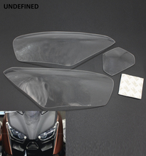 Motorcycle Front Headlight Lens Protection Screen Cover for Yamaha Xmax 300 X-max 250 XMAX300 XMAX250 2017-2018