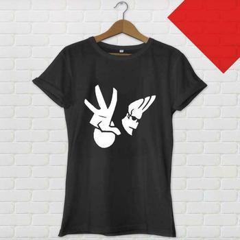 Camiseta negra del SHOW de la TV de la historieta del LOGO de ELVIS BRAVO talla de EE. UU. S-3XL Cool Casual pride t SHIRT hombres camiseta Unisex de la moda