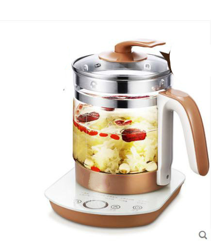 glass kettle insulated Electric 304 stainless steel electric for cooking tea pot Safety Auto-Off Function bear 220v electric kettle multifunctional health preserving pot decocting of tea glass thickened kettles