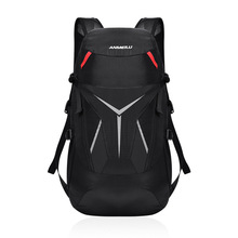 Foldable Backpack Cycling Rucksack Bag Outdoor Waterproof Bag Camping Hiking Handy Travel Daypack with Rain Cover стоимость