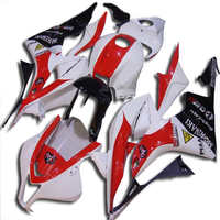 H Motorcycle Fairing Kit for injection CBR600RR F5 07 08 CBR600 RR CBR 600RR 2007 2008 ABS White red black Fairings set+gifts