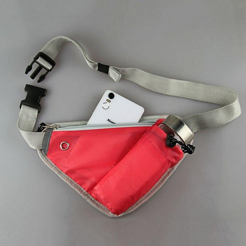 Adjustable Triangle Running Water Bag Sport Outdoor Waist Packs Hiking Cycling Running Belt Water Bottle Waist Bag