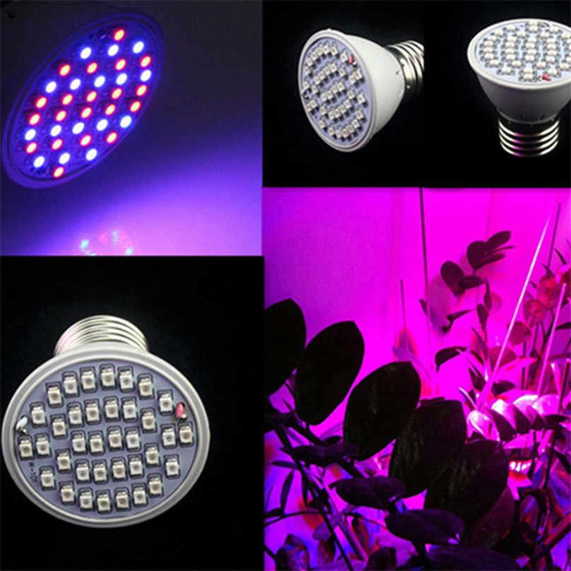 3 W 36 LED Coltiva La Luce Veg Fiore di Coltura Idroponica di Piante Al Coperto Lampada a Spettro Completo della luce di notte casa bonsai pianta luce #3J18