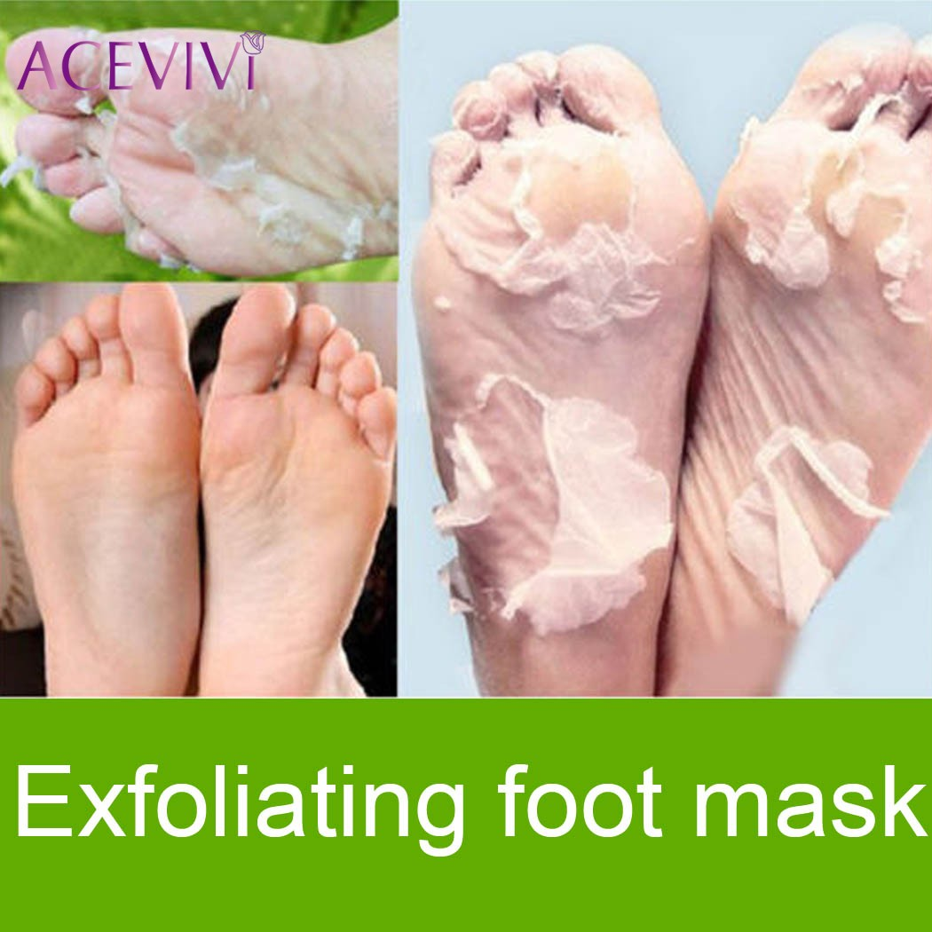 ACEVIVI 1 Pair Beauty Remove Dead Skin Foot Mask Skin Smooth Exfoliating Mask For Feet Socks Baby Foot Care Pedicure Socks soumit silicone moisturizing gel socks hard exfoliating skin spa full length with hole cracked foot skin care protect heel socks