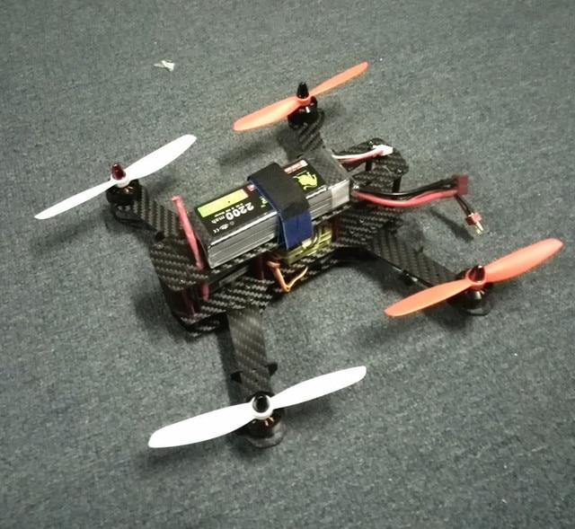 DIY marco H250 quadcopter FPV mini drone Q250 cc3d wdiy2204 2300KV ...