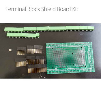 Double-side PCB Prototype Screw Terminal Block Shield Board Kit For UNO Mega2560 R3